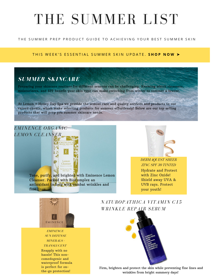Our Favorite Summer Skincare